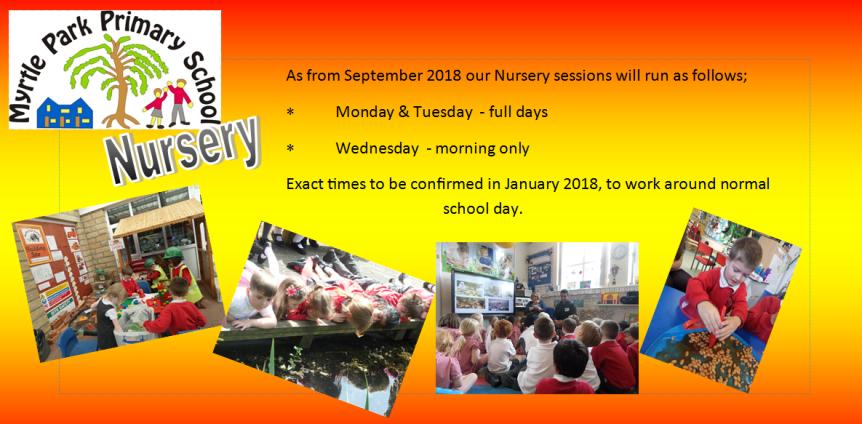 EYFS advert Nursery