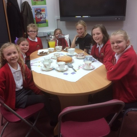 Afternoon Tea with Mrs Crowther